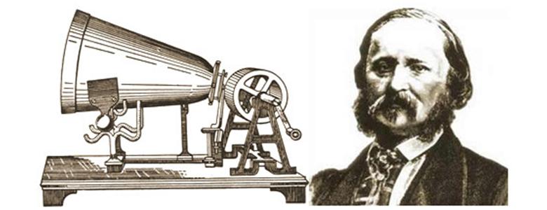 fonógrafo Édouard-Leon Scott