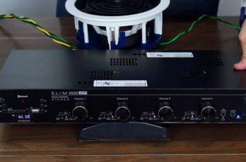 Amplificador Multiroom para Sonorização de múltiplos ambientes e matriz de áudio – Slim 4500 Frahm