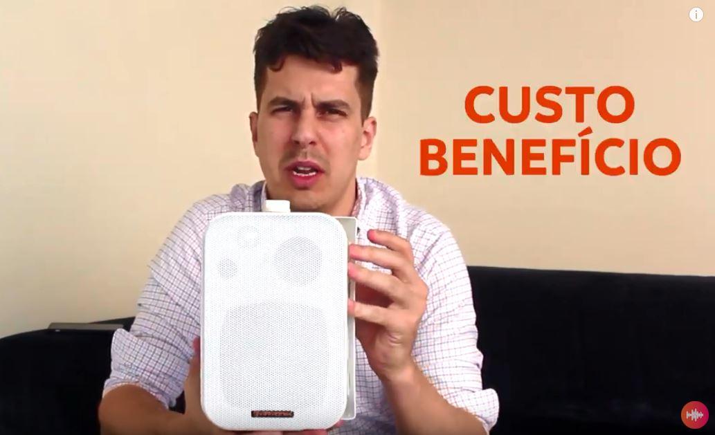 Som ambiente Acessível – Melhor custo benefício para loja, escritório, consultório, academia