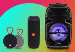 Saiba Mais sobre Caixa de Som Portátil | Audio Prime