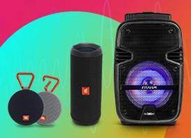 Saiba Mais sobre Caixa de Som Portátil   Audio Prime