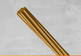 Cabos de som paralelo cobre, alumínio, prata e ouro