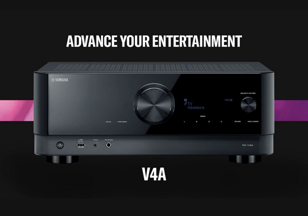 Novos receivers Yamaha RX-V4A e RX-V6A   Home Theater 2021