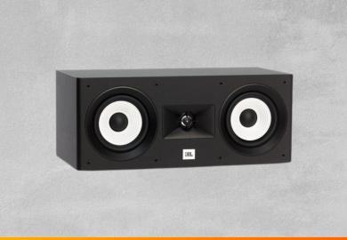Review caixa de som central JBL Stage A125C para home theater