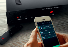 Review Amplificador AAT Audiocast AC-1 Streaming WiFi Bluetooth